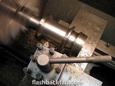 Machining the rear hub. Cannon, Mockup, Home Appliances, House Appliances, Appliances, Miniatures, Model