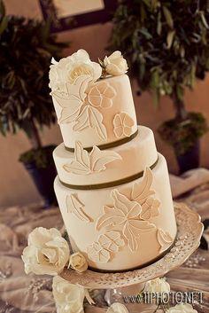 off white cake