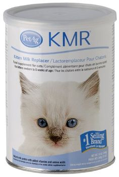$13.95-$29.96 KMR® Powder for Kittens & Cats, 12oz - All natural, no preservatives, made in the USA. A complete food source for orphaned or rejected kittens or those nursing, but needing supplemental feeding. Also recommended for growing kittens or adult cats that are stressed and require a source of highly digestible nutrients. KMR is a complete diet for kittens fortified with vitamins and miner ...