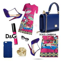 """Dolce & Gabbana"" by jewelryrecipe ❤ liked on Polyvore featuring Dolce&Gabbana, Etro and Christian Louboutin"