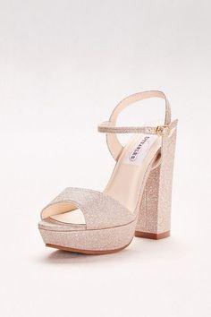 a21d883d312 Crystal Cross Strap Wedge Wedding   Bridesmaid Sandal - Silver