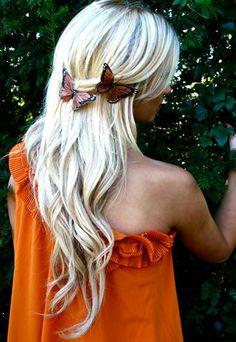 Summer Butterfly Hair Clip