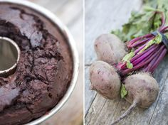 Chocolate Beet Cake    Replacing the butter, flour, and sugar with boiled beets results in a healthier verison of chocolate cake! It absorbs all the healthy nutrients from the beets while skipping a few unhealthy ingredients. And here's the thing…YOU CAN'T TELL THE DIFFERENCE!! :)