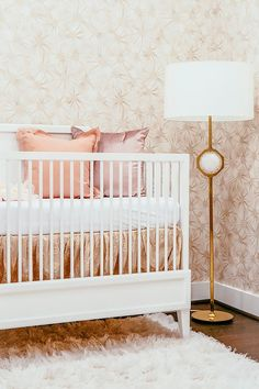 Inside an Insanely Glam Nursery Fit for a Queen | MyDomaine