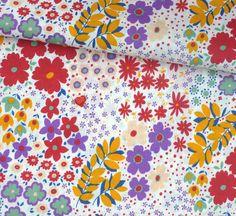 Retro Pop Garden Retro Pop, Fabulous Fabrics, Surface Pattern, Handicraft, Polka Dots, Quilts, Blanket, Contemporary, My Love