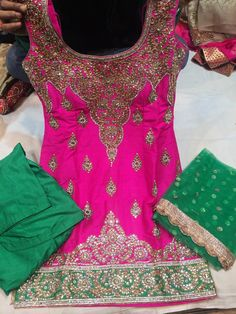 Nivetas Design Studio  this suit is pure silk purely made in hand work... net dupatta with sequence work  to order or  for purchase query whatsapp +917696747289 visit us at https://www.facebook.com/punjabisboutique  we provide world wide delivery  #punjabi salwar suit #Suits Punjabi salwar suit..