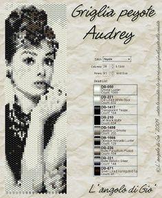 Wzór na Audrey Hepburn