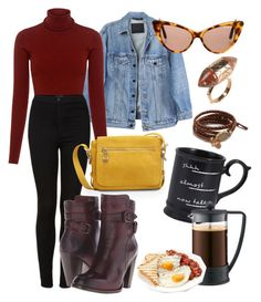 """morning"" by gecegoker on Polyvore featuring moda, Y/Project, A.L.C., Topshop, Bill Blass, Frye, Pier 1 Imports, Bodum, Tom Ford ve Pamela Love"