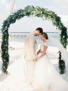 Emily & Matt - Mexico Wedding http://caratsandcake.com/EmilyandMatt