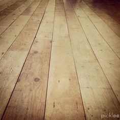 Farmhouse Wide Plank Floor Tutorial, Done Using PLYWOOD! AMAZING! Been  Trying To Figure