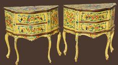 Интересное и забытое - быт и курьезы прошлых эпох. - Мебель с росписью.Комоды.18-20 век.