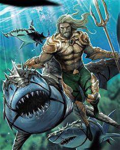 Aquaman Dc Comics, Dc Comics Art, Marvel Comics, Superman, Batman, Comic Art, Comic Books, Strong Character, Dc Characters