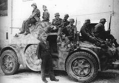 Italian built armored car Autoblinda in german service for anti-partisan operations, Yugoslavia - pin the large Poop stain by Paolo Marzioli Italian Campaign, Armored Vehicles, Armored Car, German Uniforms, Big Guns, War Machine, Machine Guns, German Army, Panzer