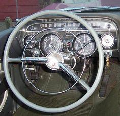 1959 Buick Steering wheel! We love this retro vintage look!