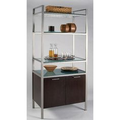 innovative stylish bakers racks furniture | Contemporary Furniture Arizona on Cascade Contemporary Bakers Rack ...