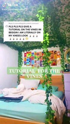 Indie Bedroom, Indie Room Decor, Cute Bedroom Decor, Room Design Bedroom, Room Ideas Bedroom, Aesthetic Room Decor, Teen Bedroom, Bedroom Inspo, Bedrooms
