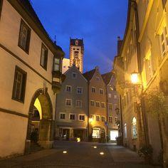 Flickr+Germany | Füssen, Germany at Night | Flickr - Photo Sharing!