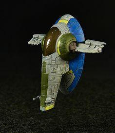 Slave 1 Repaint - Star Wars X-Wing Miniatures