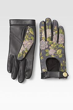 Rag & Bone Quilted Leather Driving Gloves