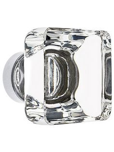 Square crystal knob pairs well with our new square crystal pull