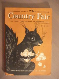Country-Fair-All-About-The-Country-in-November-1952-Paperback-Vol-3-No-5