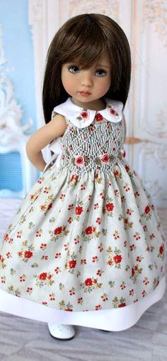 Smocked Dress for Little Darling, Effner