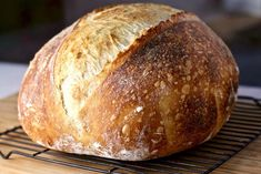 Beginner Artisan Sourdough Bread Recipe | Homemade Food Junkie