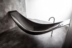 Hammock-Style Bathtub by Splinter Works   Webflakes