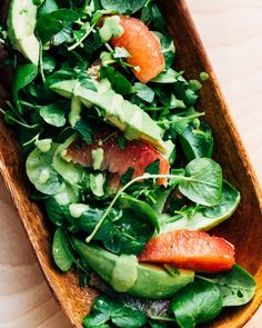 Grapefruit avokado salad  by Brooklyn supper