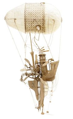 Flying Machines – Les créations en carton de Daniel Agdag