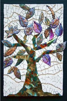 large mosaic tree - Google Search