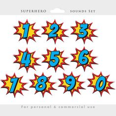 Superhero clipart comic book clip art by WinchesterLambourne Comic Book Yearbook, Comic Book Font, Comic Books, Superhero Font, Superhero Clipart, Superhero Classroom, Avengers Birthday, Superhero Birthday Party, Baby Heroes