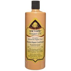34 oz bottle 19.99 at Sally's best stuff ever....One 'n Only Argan Oil Moisture Repair Conditioner is a daily conditioner that helps reconstruct, detangle and replenish moisture levels, instantly revitalizing dull, weak, and damaged hair.