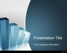 Business Evaluation PowerPoint Template is a free clean template for business and professional organization PowerPoint presentations that you can use for business evaluation purposes #3d #chart #template #glass