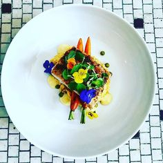 If youre looking to eat one of the best meals in your life you need to check out The White Linen. #NoPlaceLikeKS  ___________________________________  @thewhitelinen  New dish on our menu.  Mahi. Chorizo Risotto. Carrots. Citrus Beurre Blanc.  #topekaproud #finedining #downtown #topekakansas #putusonthemap @michelinguide @countingmichelinstars @thewhitelinen @bonappetitmag @feastmag
