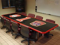 Owning Your Firehouse – The Art of the Custom Firehouse Kitchen Table | The Fire Critic