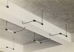 Ceiling lights, Bauhaus, Dessau, 1930-32 By Iwao Yamawaki
