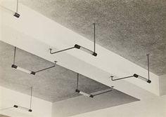 Ceiling lights, Bauhaus, Dessau, 1930-32 By Iwao Yamawaki