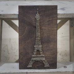 Создаем интерьерную картину в стиле string art - Ярмарка Мастеров - ручная работа, handmade
