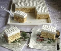 Recepti i Kuvar online - Recepti, vesti, saveti i online magazin Brze Torte, Rodjendanske Torte, Desserts To Make, Sweet Desserts, Sweet Recipes, Baking Recipes, Cookie Recipes, Dessert Recipes, Kolachi Recipe