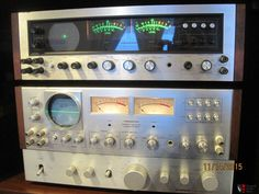 Pioneer SD-1100 & SD-1000 stereo display unit (scopes)
