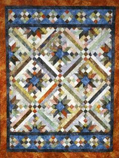 SMOKY RIVER QUILT PATTERN