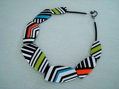 Polymer clay necklace from malo ustvarjalno