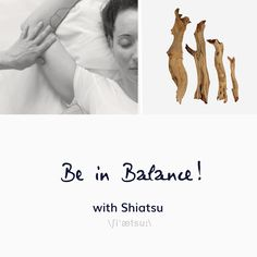 be in balance! - now in spring, nature celebrates the birth of a new life, everything strives for a new beginning, a fresh start, everything wants to be. Sometimes spring power is a challenge not to lose your inner balance or regain it. With its holistic approach to treatment, Shiatsu is a great way to touch your body and soul and balance your energies