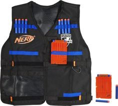 Women's Clothing Just Adjustable Tactical Vest With Storage Pockets Toy For Nerf N-strike Elite Team Lustrous