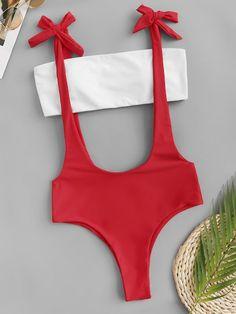 2020 Women Swimsuits Bikini Maxine Of Hollywood One Piece Swimsuit Plaid Bathing Suit Flattering Swimsuits Strapless Monokini Flattering Swimsuits, Cute Swimsuits, Cute Bikinis, Two Piece Swimsuits, Women Swimsuits, Swimwear Fashion, Bikini Fashion, Bikini Swimwear, Romwe Swimwear