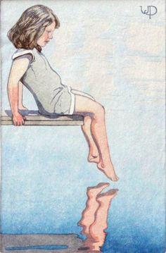 Walter Joseph Phillips (1884-1963) - The Diving Board, 1931