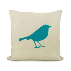 Bird pillow cover Decorative pillow Woodland by ClassicByNature, $34.00