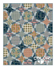 Black Jack quilt pattern color options, pattern by Color Girl Quilts