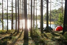 Campsite with a view / Hilleberg / Bruksleden / Sweden / Hike